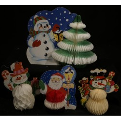 Old pop up ornaments, h: 16...