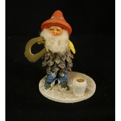 Old pinecone elf with a...