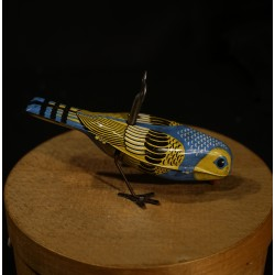 Old mechanical toy, bird,...