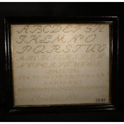 Antique name cloth from...