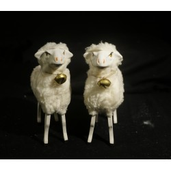 Tall sheep with a bell, h:...