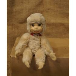Old teddy, monkey, l: 22,5 cm.