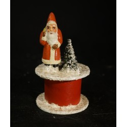 Old candycontainer, Santa,...