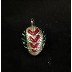 Antique glass ornament, art...